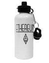 TooLoud Ethereum with logo Aluminum 600ml Water Bottle