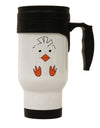 TooLoud Cute Easter Chick Face Stainless Steel 14oz Travel Mug