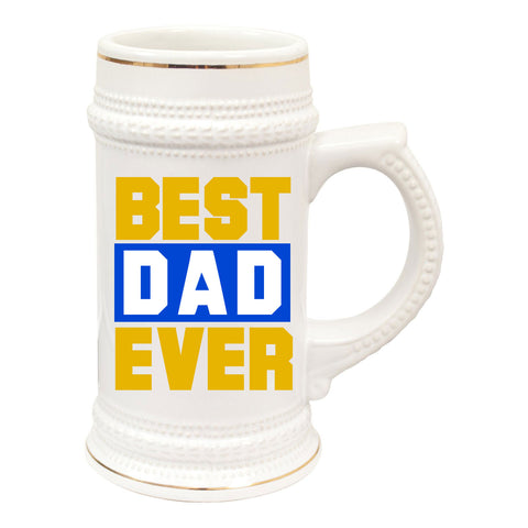 Best Dad Ever Sublimation 22oz Beer Stein