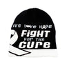 Lung Cancer Awareness Beanie Skullcap Hat, Walk or Run Cap