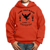 Camp Half Blood Camp Half Blood Cabin ORANGE Youth Hoodie Pullover Sweatshirt