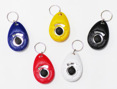Custom Personalized Promotional Dog Clicker, Your text, logo or image