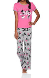 Disney Mickey and Minnie Mouse 2 Piece Pajama Set