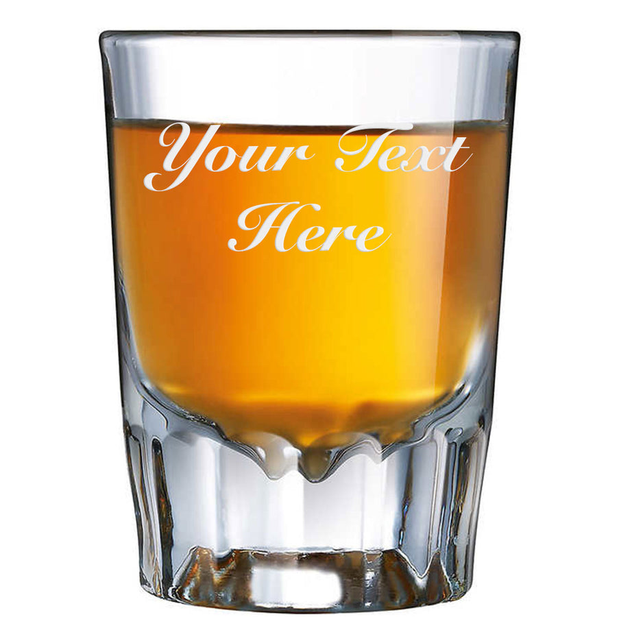 Personlized Custom Etched Shot Glass 1.89oz