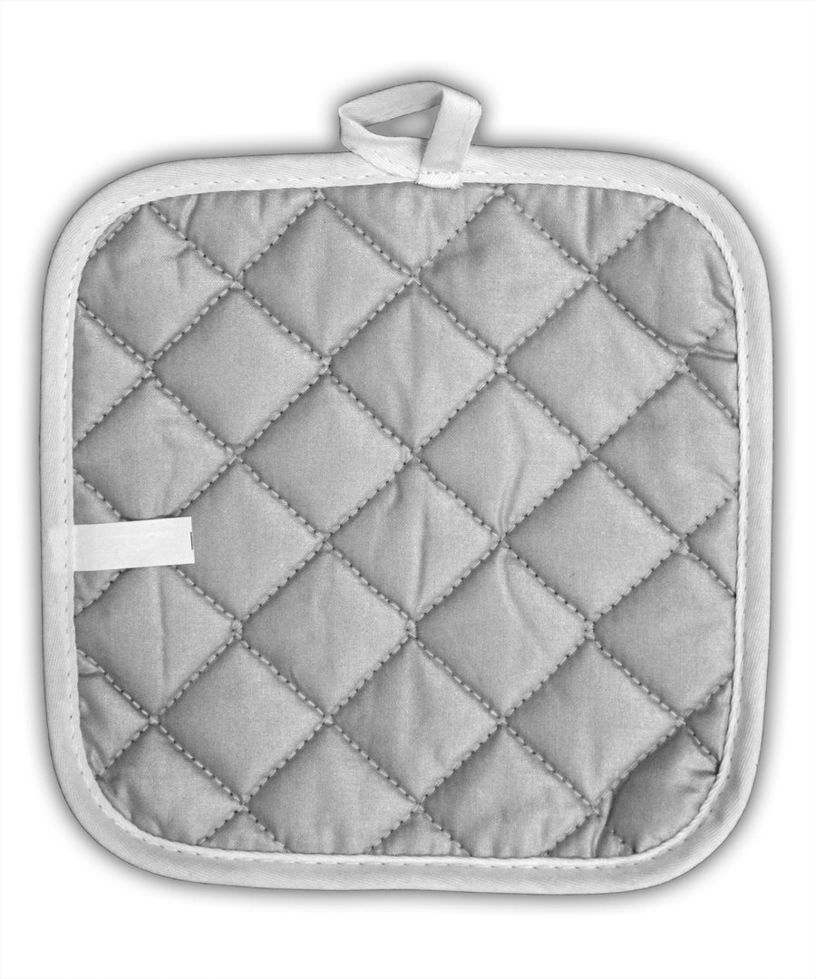 TooLoud Corona Virus Precautions  White Fabric Pot Holder Hot Pad