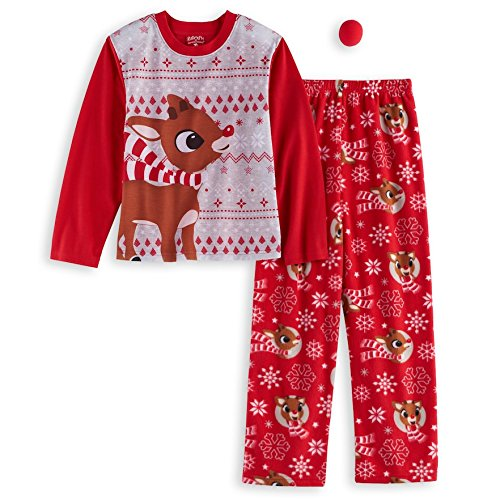 Family Rudolph Reindeer Childrens Pajama set
