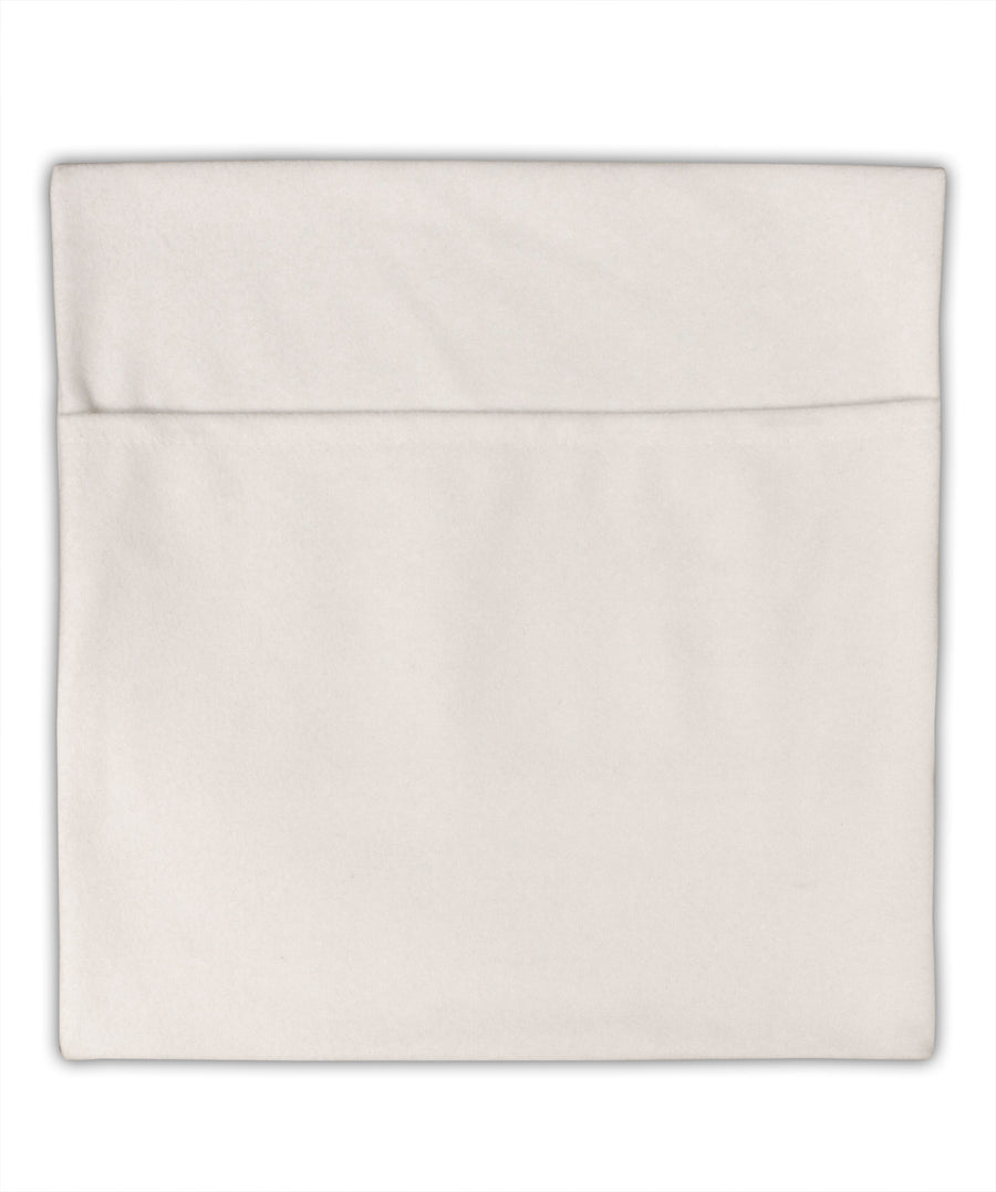 TooLoud Give Thanks Micro Fleece 14 Inch x 14 Inch Pillow Sham