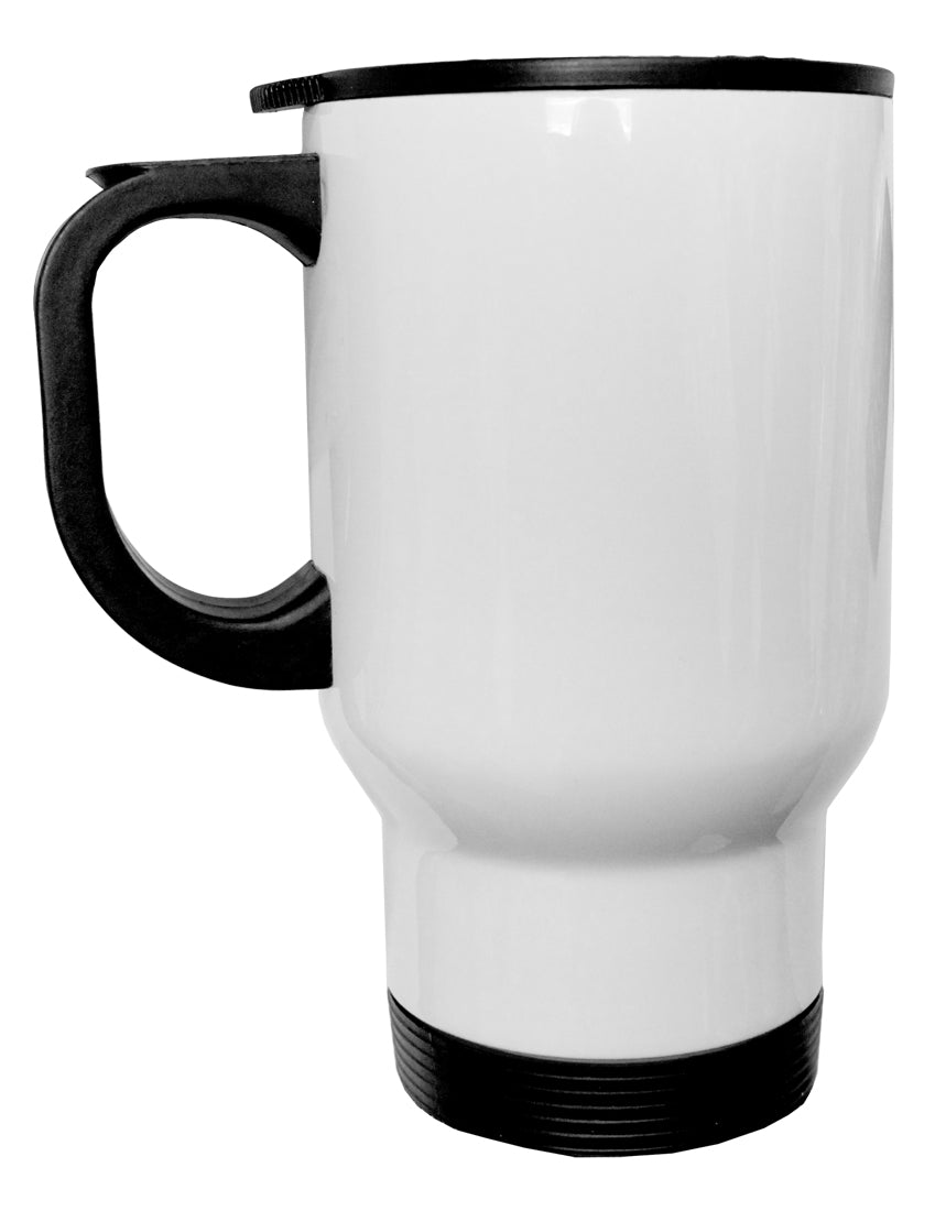 TooLoud Faith Fuels us in Times of Fear  Stainless Steel 14oz Travel M
