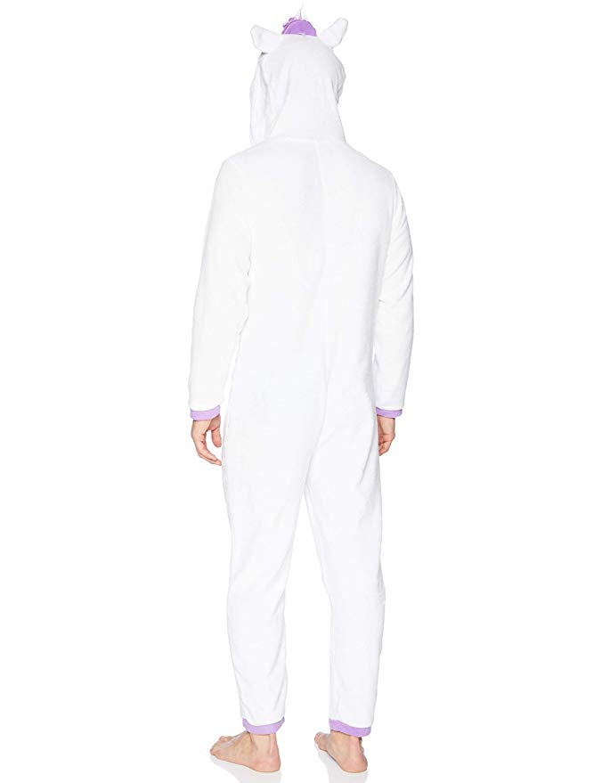 Men's Unicorn Union Suit Onesie Pajama Loungewear Costume