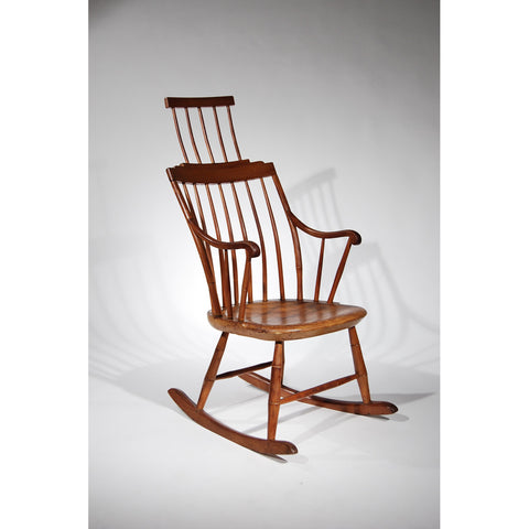 Comb-back Windsor Rocking Chair