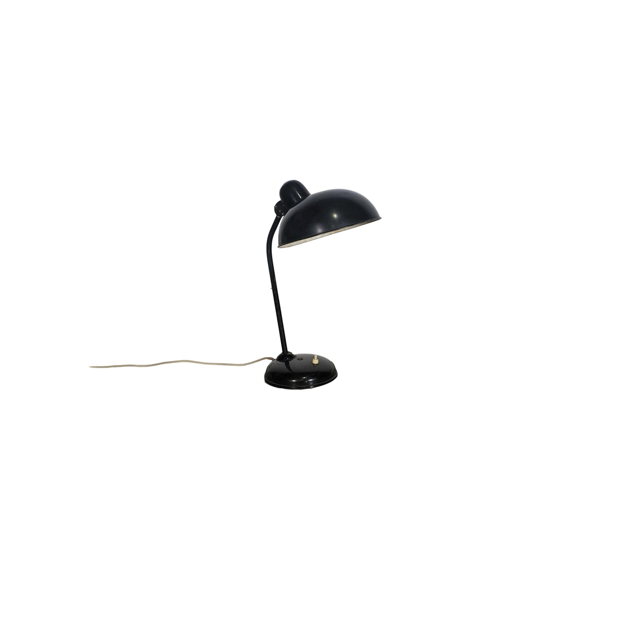 1950s Bauhaus Desk Lamp by Christian Dell for Helo Leuchten