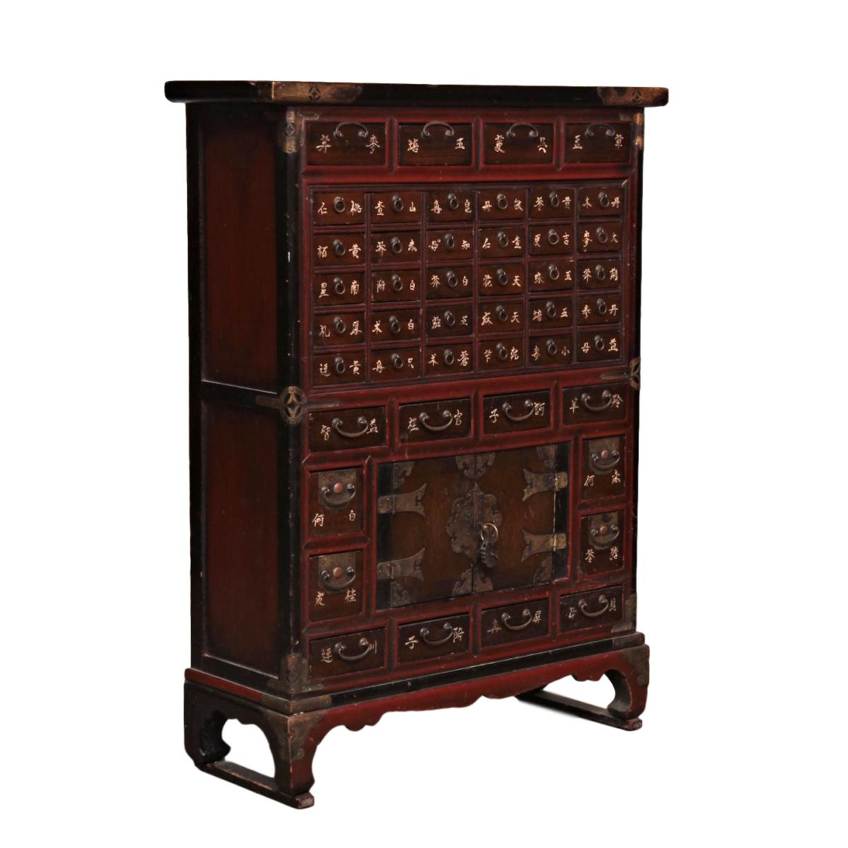 19th Century Antique Korean Bandaji Chest