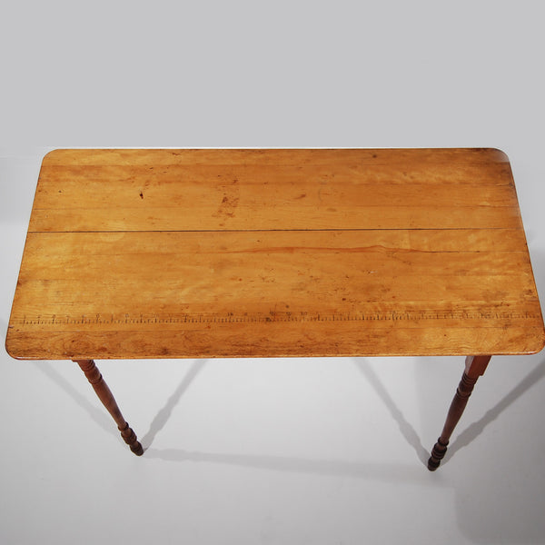 Fold-Up Wood Compact Table