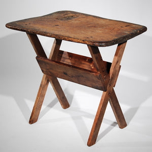 Aged Outdoor Activity Work Table