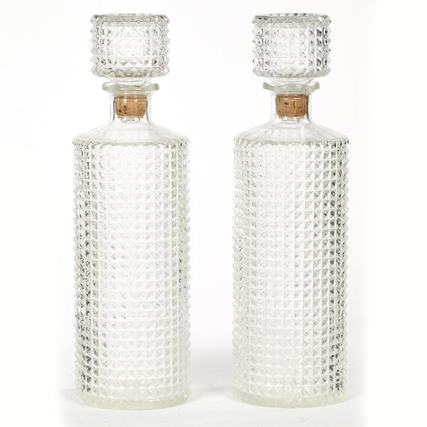 Crystalesque Glass Bottles