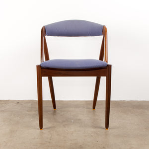 Set of 3 Teak Danish Dining Chairs, Circa 1960