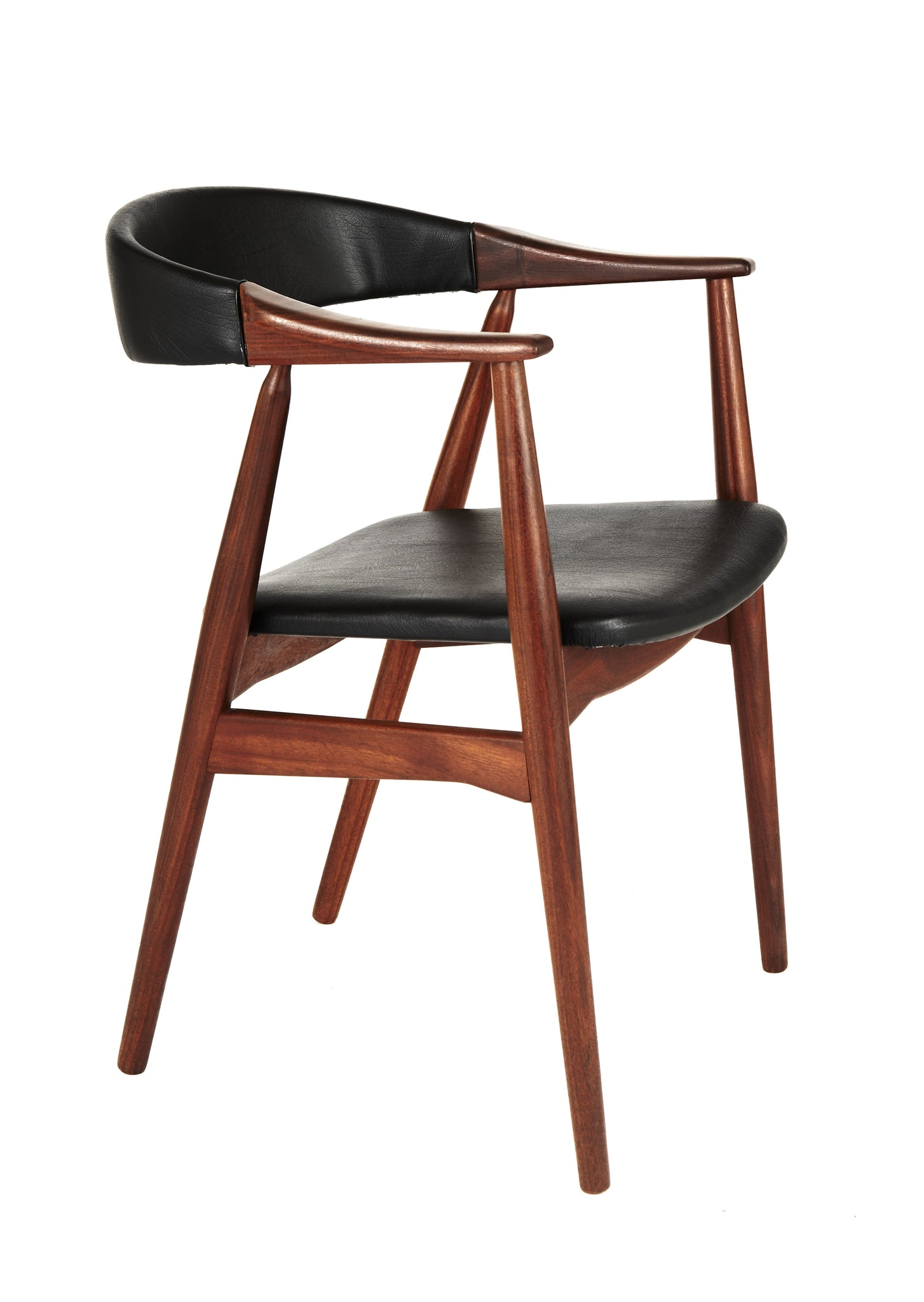 Erik Kirkegaard Curve Back Chair
