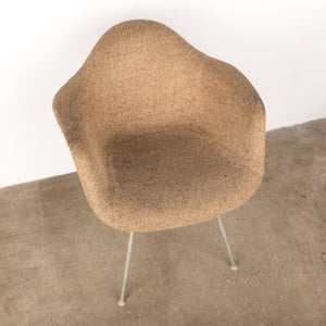 A Pair of Fabric Eames Shell Chairs