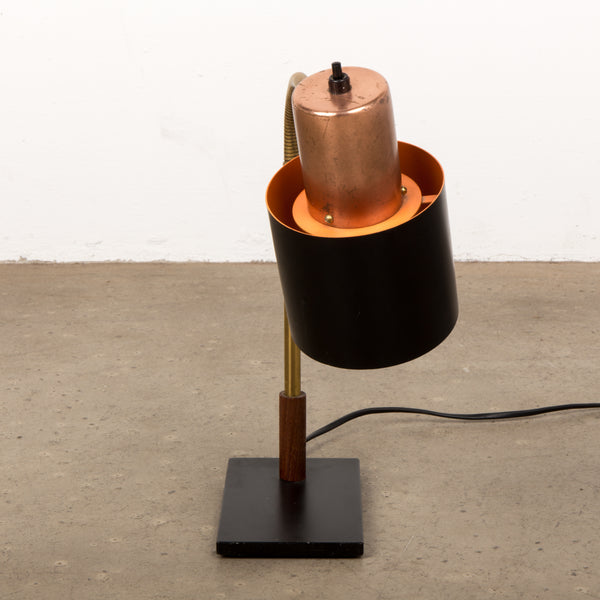 Beta Table Lamp by Jo Hammerborg for Fog & Mørup, 1960s