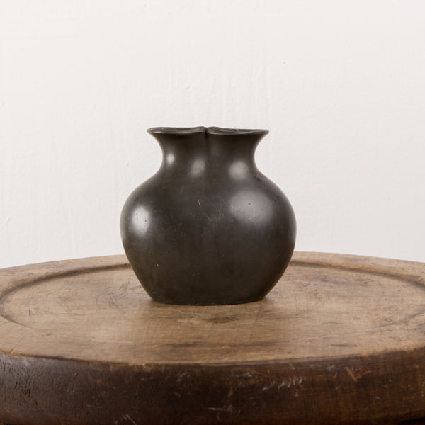 Just Anderson Danish Patinated Bronze Vase, number D120