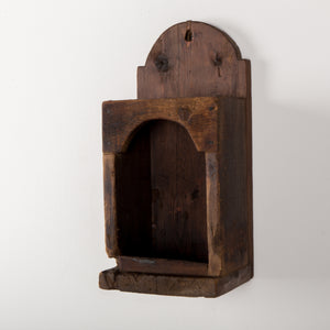Primitive Sconce From New England