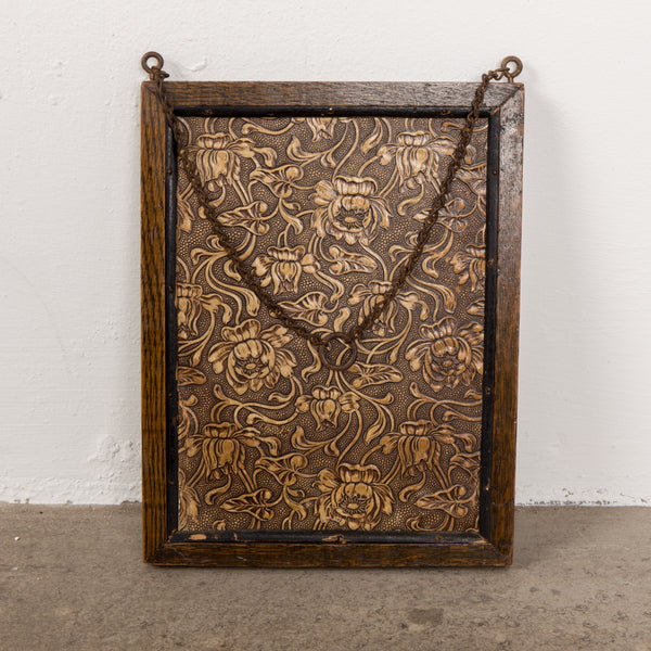 Antique wall  hanging mirror
