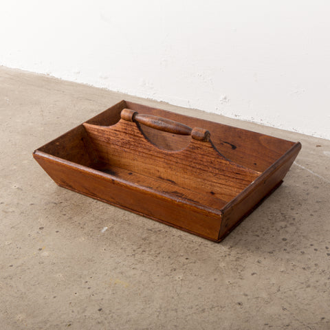 19th Century American Handmade Cutlery Box