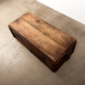 Early 20th Century  Wooden box