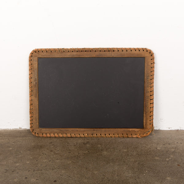 Antique Primitive Slate Board Chalkboard Chalk Board 1900s Child's School Slate Blackboard Farmhouse Chic