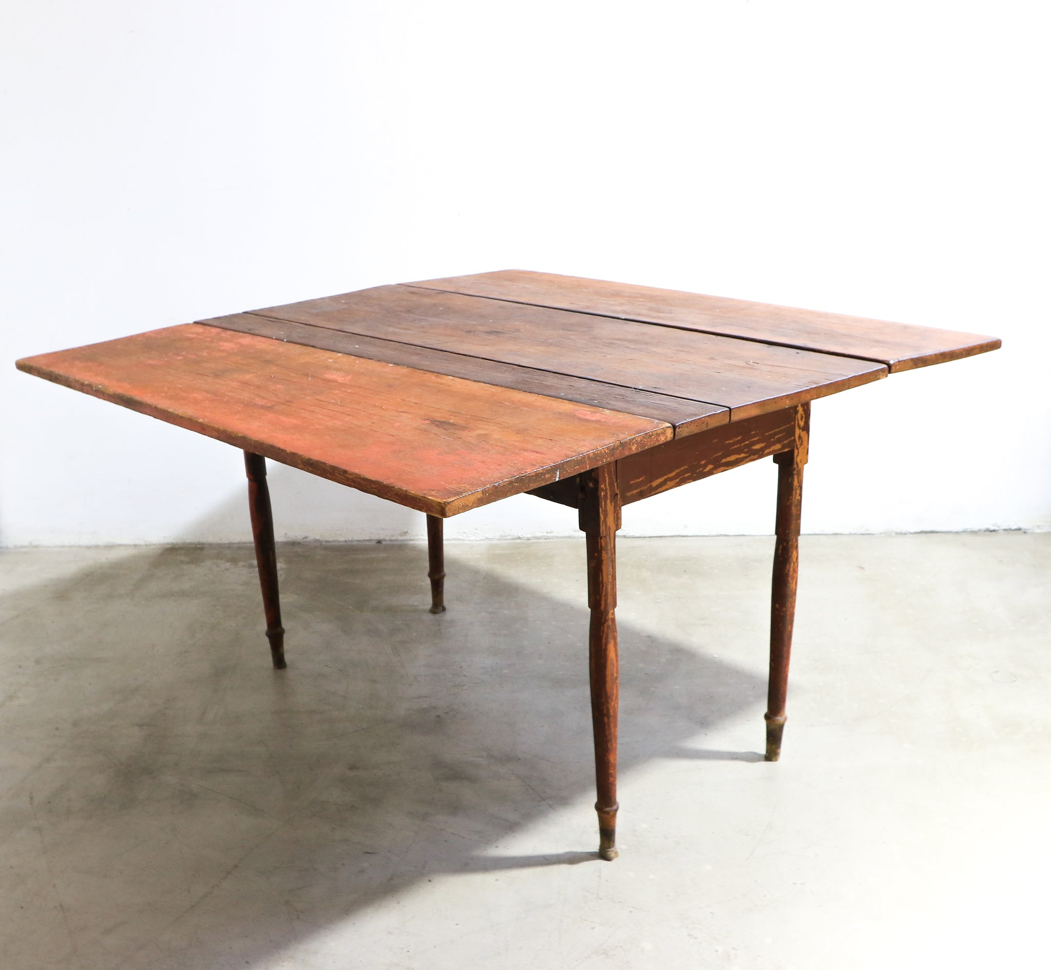 Danish Panel Extendable Dining Table