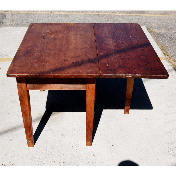 Antique Wooden Bakers Table