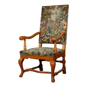 Danish Arm Chair in the Style of Louis XIV