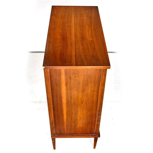 Large Mid Century Kent Coffey Walnut Dresser