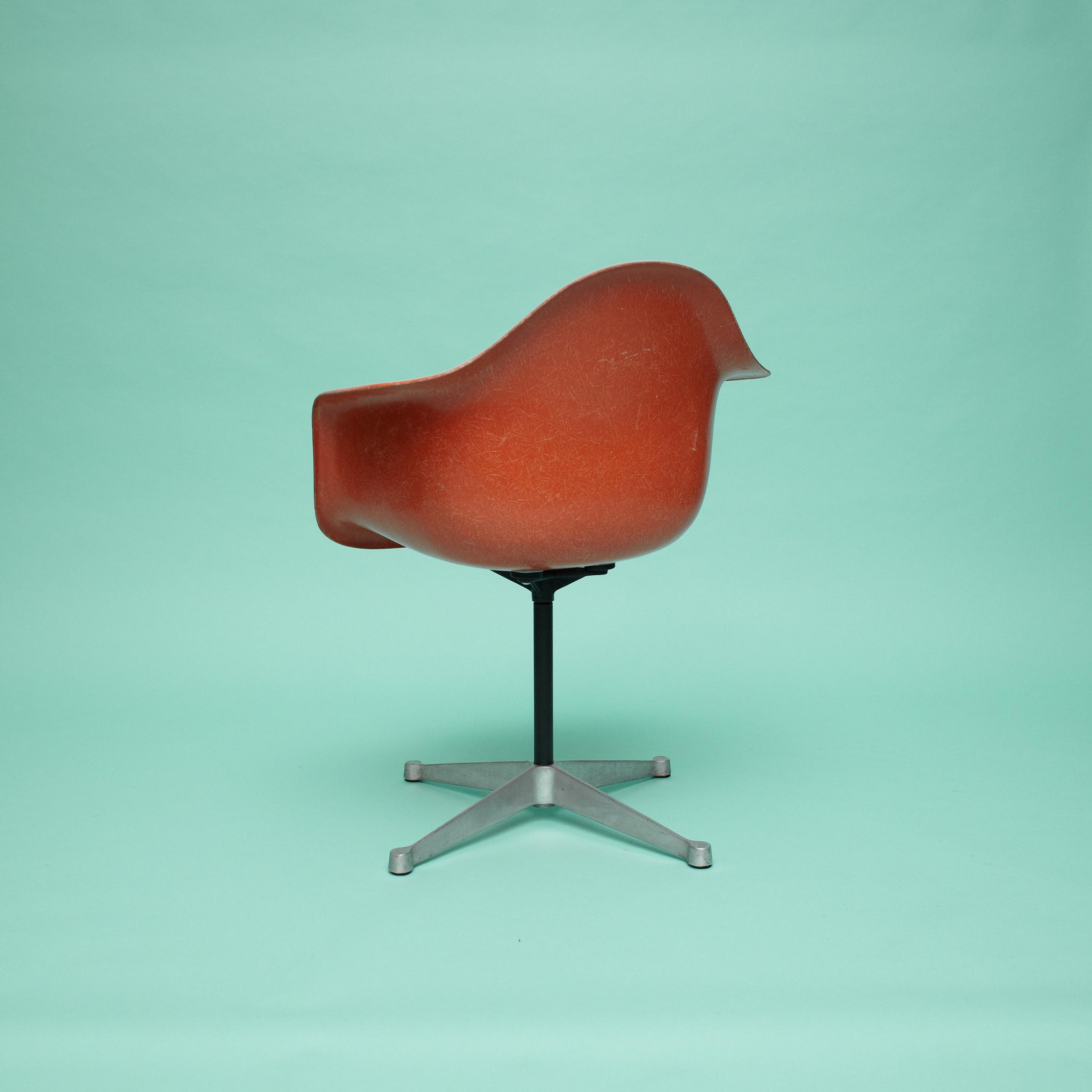 Mid Century Charles Eames Fiberglass Chair