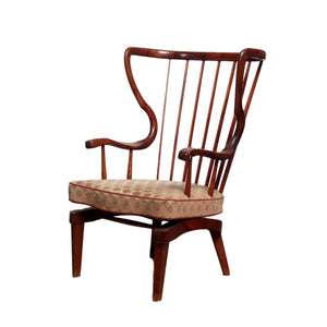 Mid-Century Danish Rocking Chair