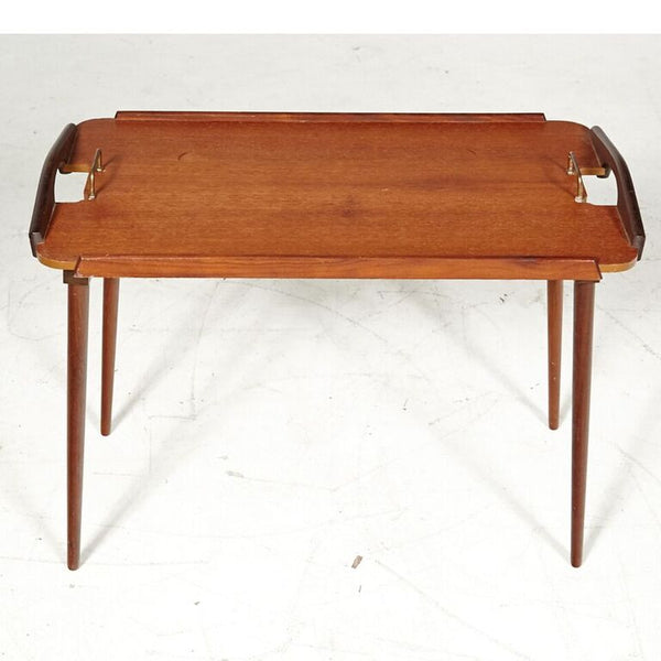 Norwegian Mid Century Folding Tray Table