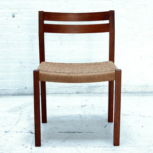 "Mid Century Moller Chair; ""Model #404"""