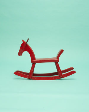 Kay Bojesen Rocking Horse Painted Red