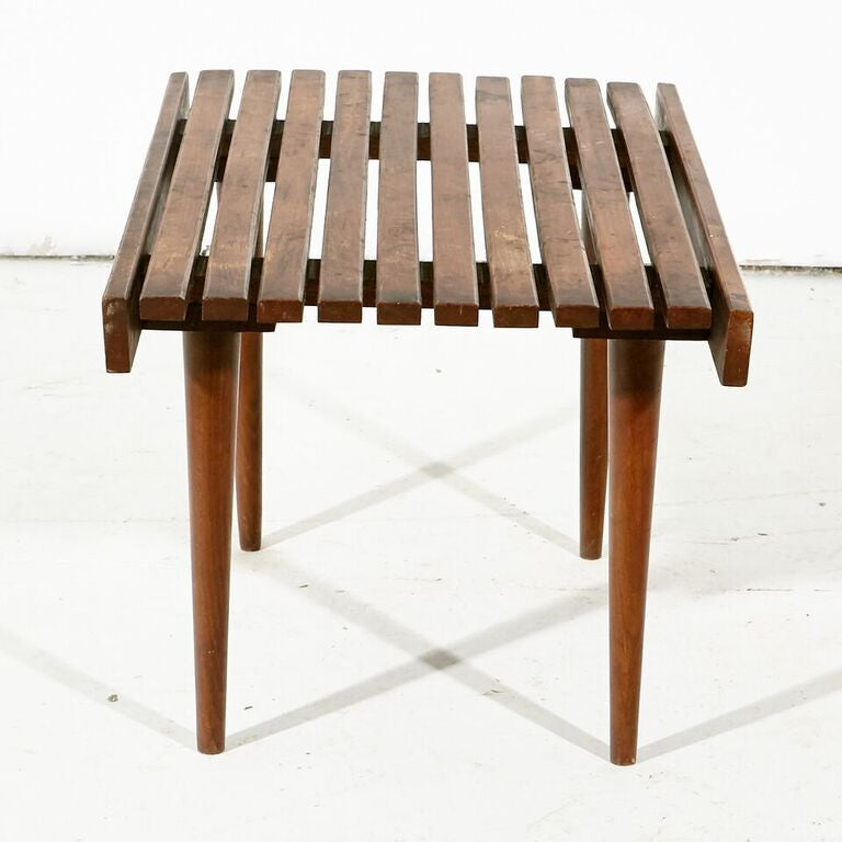 Short Slated Bench