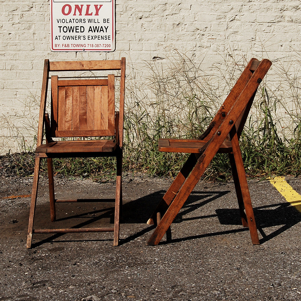 A Pair of 19th Century Folding Chairs