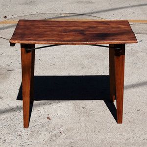Small Wooden Folding Table