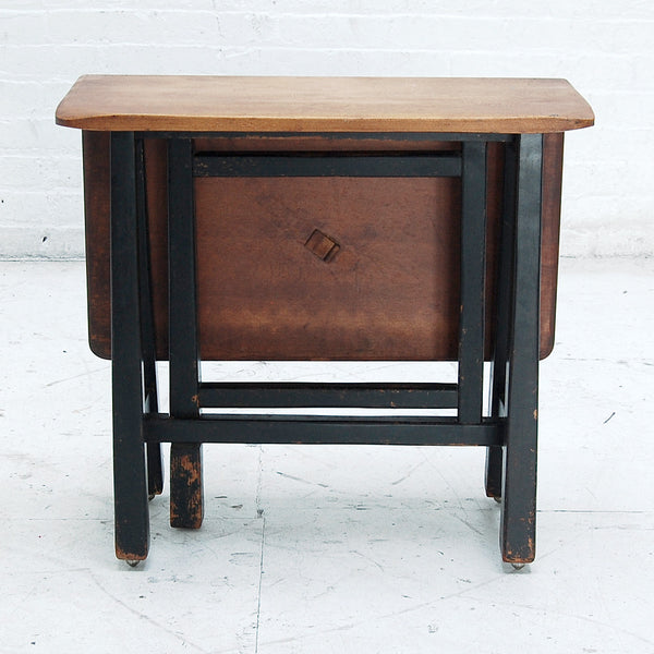 Small 19th Century Folding Side Table