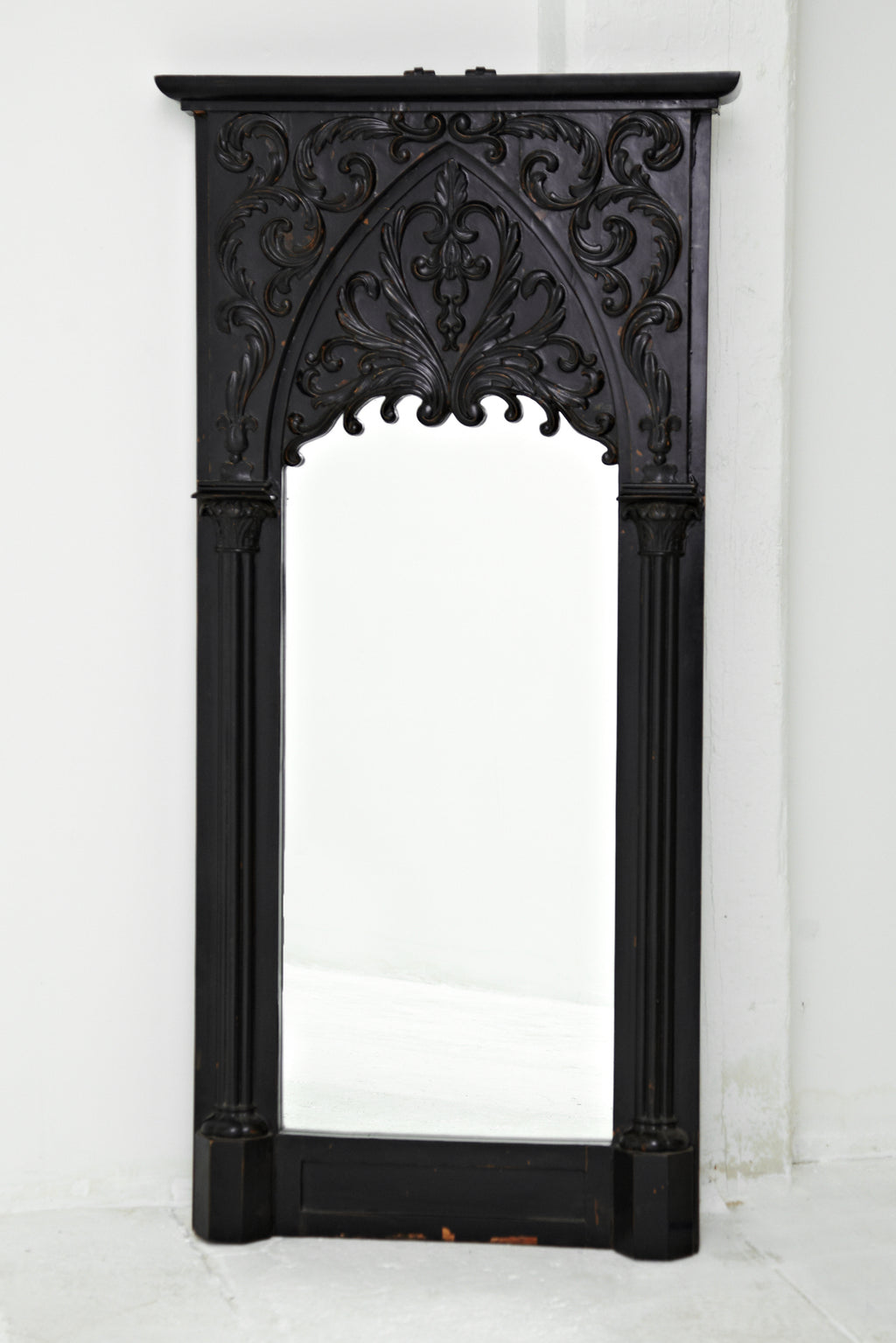 Swedish 19th Century Gothic Mirror