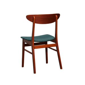 """The Smile"" Teak, Beech Dining Chairs by Farstrup - Set of 3"