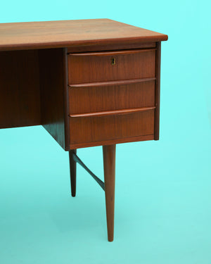 Mid-Century Danish Desk in Teak