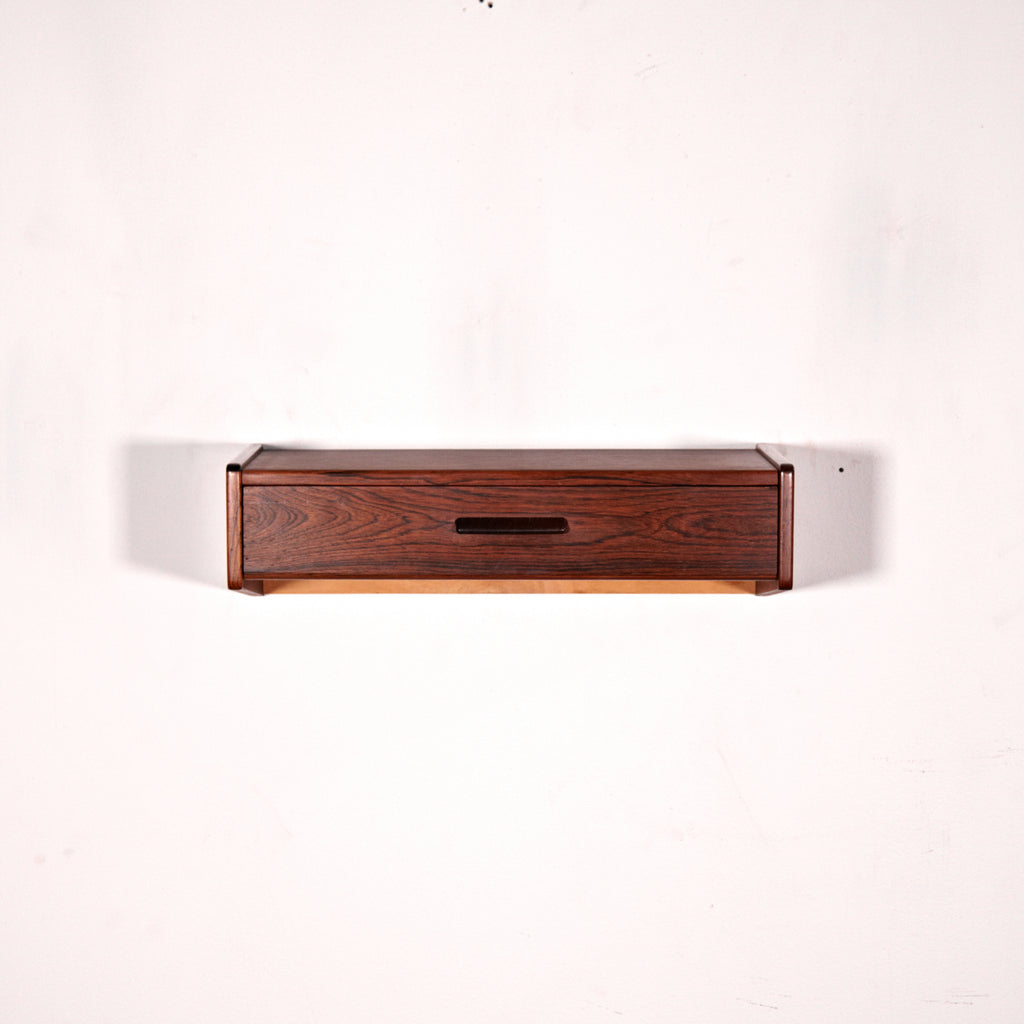 Vintage Danish Rosewood Wall Cabinet