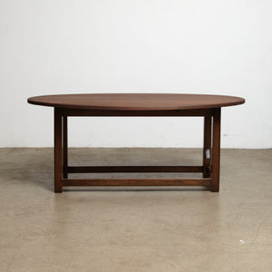 English solid  mahogany coffee table