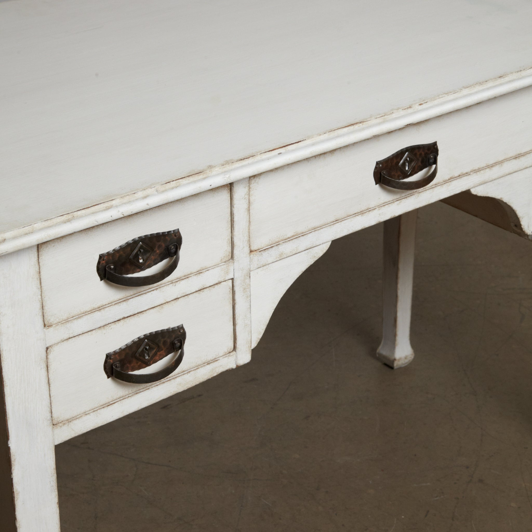 Painted Swedish dressing table circa 1910