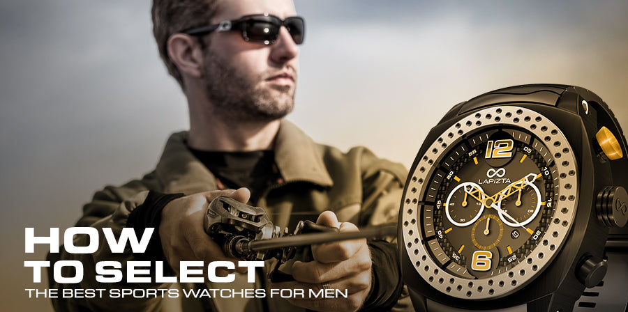 How to Select the Best Sports Watches for Men
