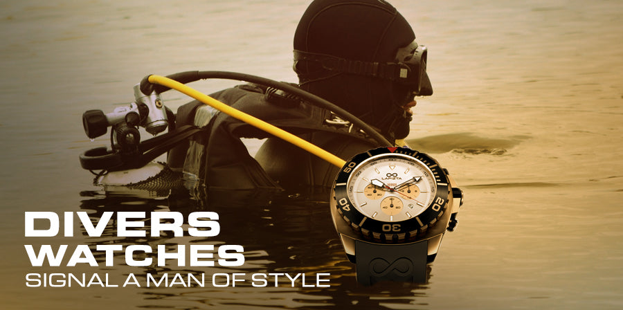 Divers Watches Signal a Man of Style